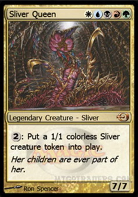magic the gathering sliver deck legacy sliver legacy deck
