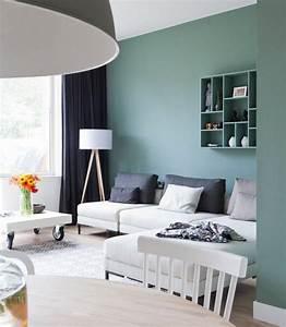 Farben Für Die Wand : trendige farben f r die wohnzimmerw nde 25 ideen ~ Michelbontemps.com Haus und Dekorationen
