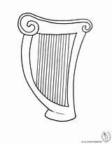 Disegno Colorare Arpa Strumenti Musicali Harp Disegni Bambini Coloring Stampare Disegnidacolorareonline Violino Immagini Pianoforte Musicale Musica Colori Batteria Gratis Pronta sketch template