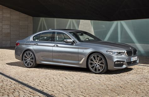 2017 Bmw 5-series Priced From ,195