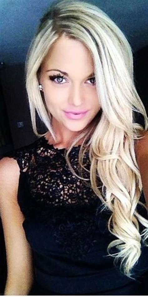cute blonde hairstyles  women