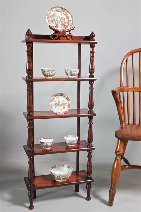 Small Antique 5 Tiered Display Shelves U358  Antiques Atlas