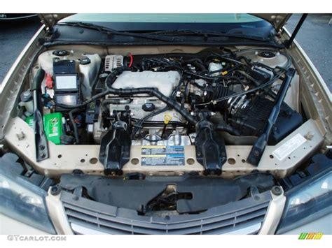 2005 Impala Engine Diagram by 2005 Chevrolet Impala Standard Impala Model 3 4 Liter Ohv