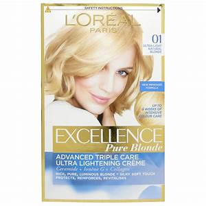 L'Oreal Excellence Creme 01 Lightest Blonde | eBay