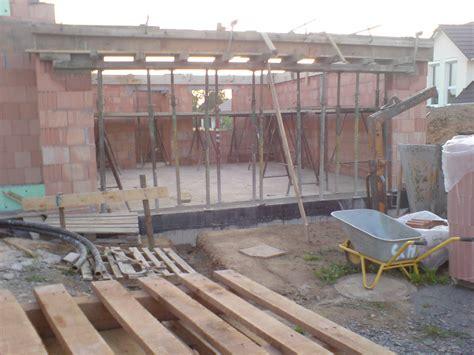 Holzbalkendecke Garage by Ringanker Garage Feddisch Anja Und Nico Bauen Ihr