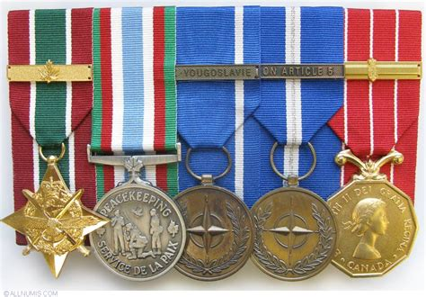 canadian military decorations gcs swa cpsm nato fy