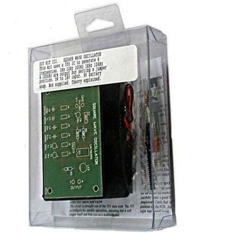 Variable Frequency Square Wave Oscillator Kit