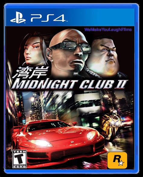 Midnight Club 2 Ps4 By Wemakeyoulaughfilms On Deviantart