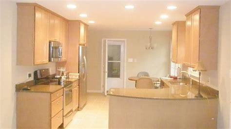 narrow galley kitchen design ideas google search