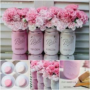 Painted Mason Jars Pictures, Photos, and Images for