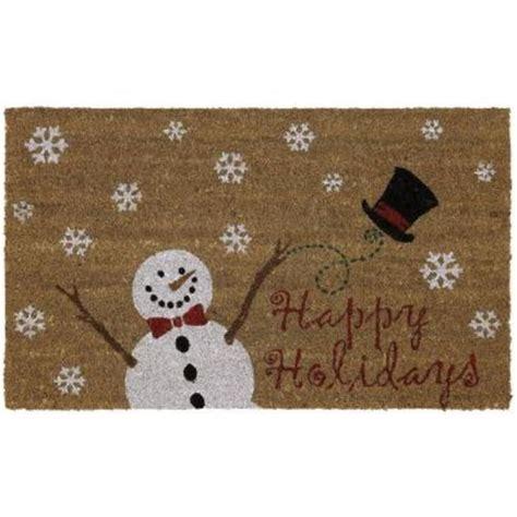 Best Doormat For Snow by New 29 Quot X 17 Quot Snowman Coir Doormat