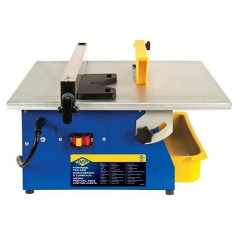 Cutting Glass Tile With Saw by Qep Master Cut 3 5 Hp Tile Saw With 7 In