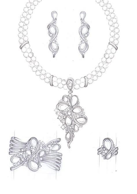 jewelry sketch ideas  pinterest jewelry