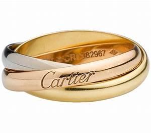 Bague 3 Ors Cartier : flagship products des mains d 39 or ~ Carolinahurricanesstore.com Idées de Décoration