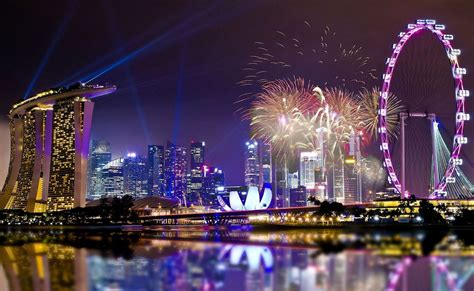 Christmas And New Year Celebration In Singapore