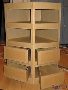 17 meilleures idees a propos de meubles en carton sur With comment fabriquer un meuble en carton