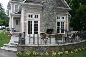 Farmhouse Style House Pictures by Home Depot Martha Stewart Patio Decosee