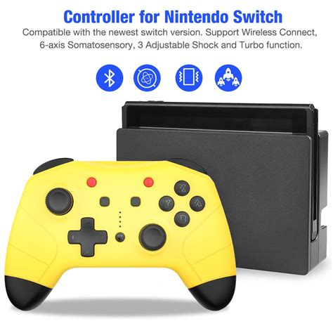 beboncool wireless controller  nintendo switch pro