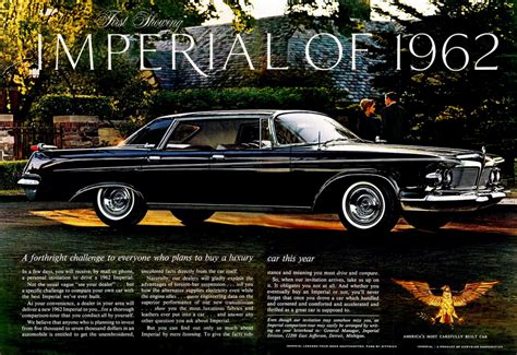 Chrysler Advertising by Model Year Madness 10 Classic Ads From 1962 The Daily