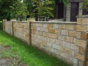 Steine Für Gartenmauer Preis : sandsteinmauer bauen sandsteinmauer bauen das sollten sie ~ Michelbontemps.com Haus und Dekorationen