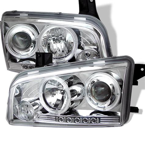 spyder auto dodge charger 06 10 projector headlights