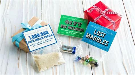 gag gift ideas christmas food funny
