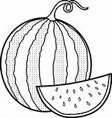 Watermelon Coloring Pages Melon Printable Water Drawing Colouring Sheets Fruits Getdrawings Sketch Templates Mitraland Template Bestcoloringpagesforkids Seedless sketch template