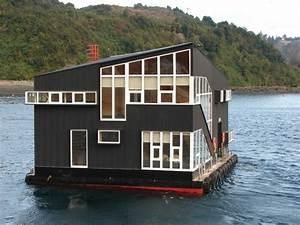 Wohnen Auf Dem Hausboot : 56 ausgefallene ideen f r moderne fassaden ~ Markanthonyermac.com Haus und Dekorationen
