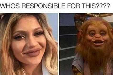 Kylie Jenner Meme - mean kylie jenner memes funny pictures about plastic surgery teen com