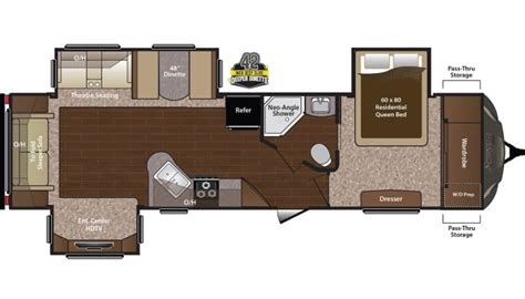 Keystone Sprinter Floor Plans And General Information