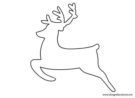 figure da ritagliare e ricomporre immagini da colorare renne di natale disegni di natale 2019