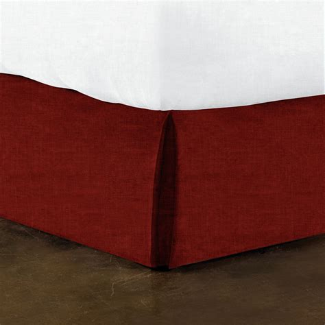 Box Pleat Bed Skirt by Dkny Washed Stripe Box Pleat Bedskirt Donnakaranhome