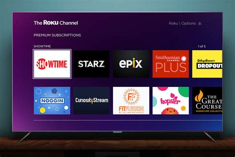 you can now showtime starz and epix on roku