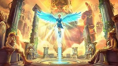 Rising Immortals Fenyx 4k God Wallpapers Games