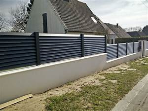 Cloture Alu Sur Muret : 17 best images about cl ture aluminium on pinterest golf ~ Dailycaller-alerts.com Idées de Décoration