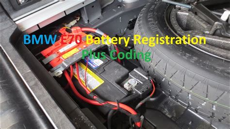 bmw   battery registration  coding switch