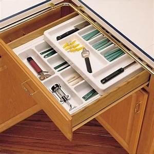 "Rev-A-Shelf Cutlery Tray 18"" Full Top RT18-3F"