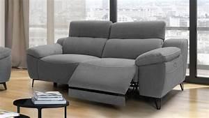 Canape de relaxation electrique design 3 places faro for Tapis yoga avec canapé tissu relaxation 3 places