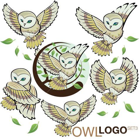 Owl Logo Set 3 Newarta