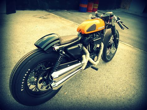 1 Harley Davidson 883 Cafe Racer Hd Wallpapers