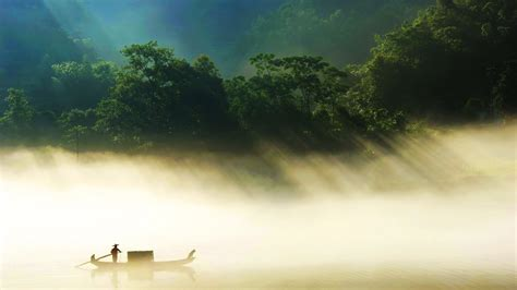 Countryside Fisherman Wallpapers