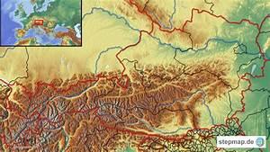 Deutschland Physische Karte : sterreich physisch von schauze landkarte f r deutschland ~ Watch28wear.com Haus und Dekorationen