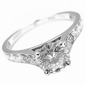 van cleef and arpels romance diamond platinum engagement With van cleef wedding ring