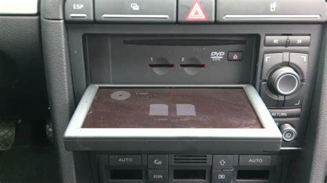 Audi A4 B7 MMI navi audio - YouTube