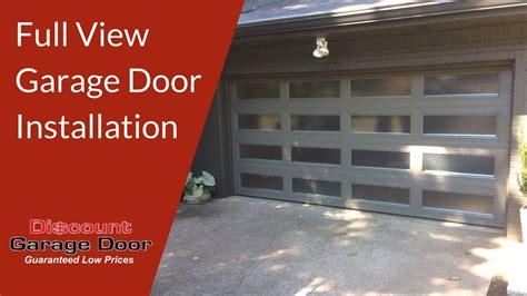 Full View Garage Door Installation  Discount Garage Door