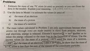 Solved  Chemactivity 1 The Nuclear Atom  What Is An Atom