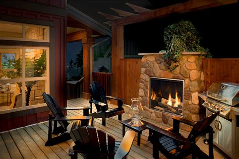 town country tc od outdoor gas fireplace inseason