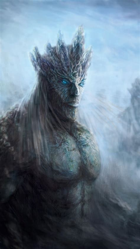 fantasy art artwork game  thrones white walkers