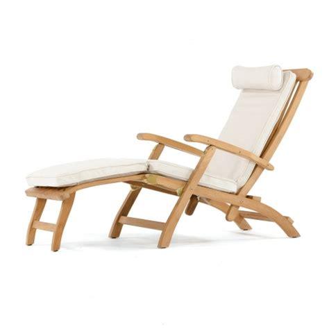 sunbrella steamer cushion westminster teak outdoor furniture