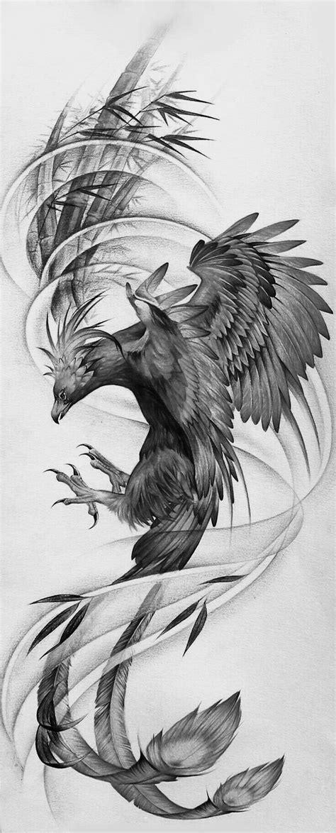 The 25+ best Japanese phoenix tattoo ideas on Pinterest | Tattoo pheonix, Peacock design and